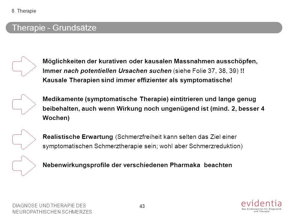 8. Therapie Therapie - Grundsätze.