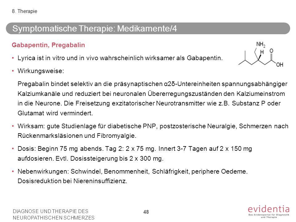 Symptomatische Therapie: Medikamente/4