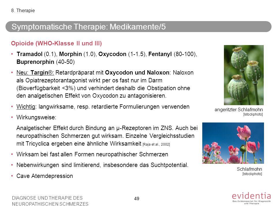 Symptomatische Therapie: Medikamente/5