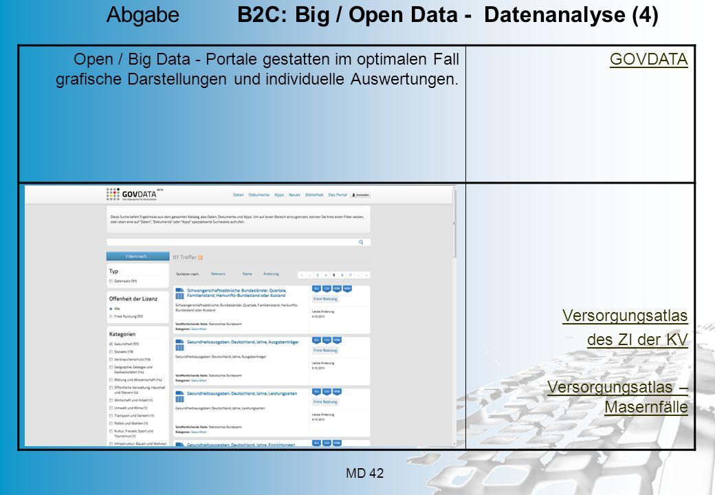 Abgabe B2C: Big / Open Data - Datenanalyse (4)