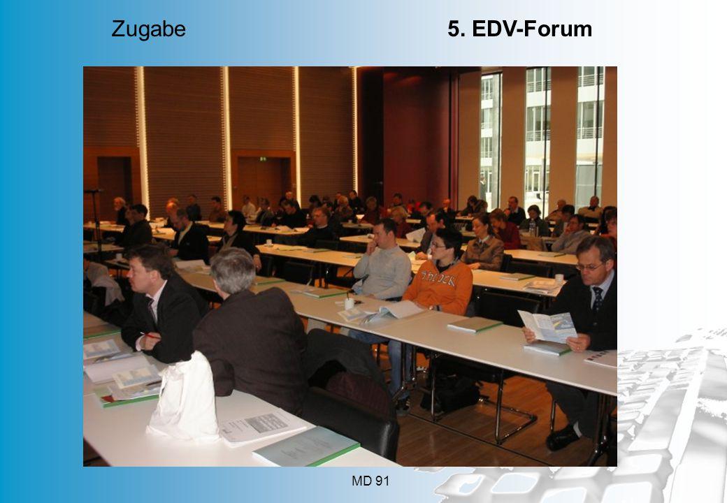 Zugabe 5. EDV-Forum