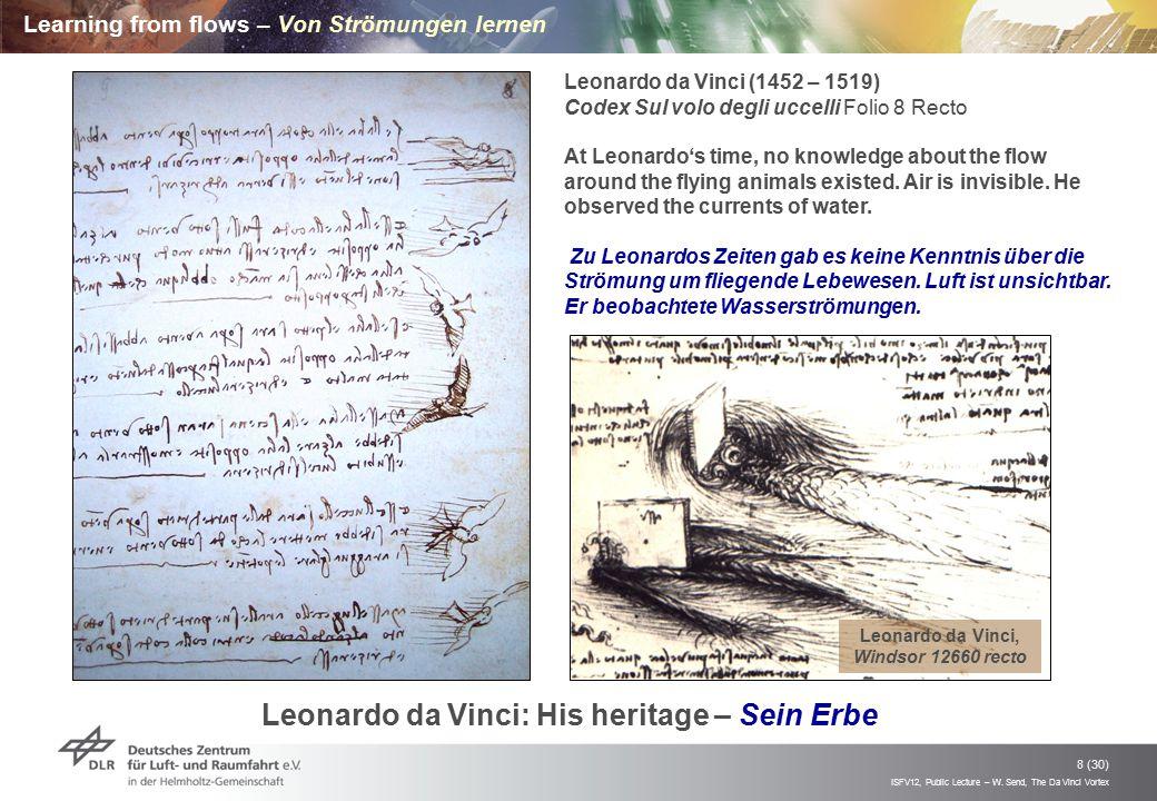 Learning from flows – Von Strömungen lernen
