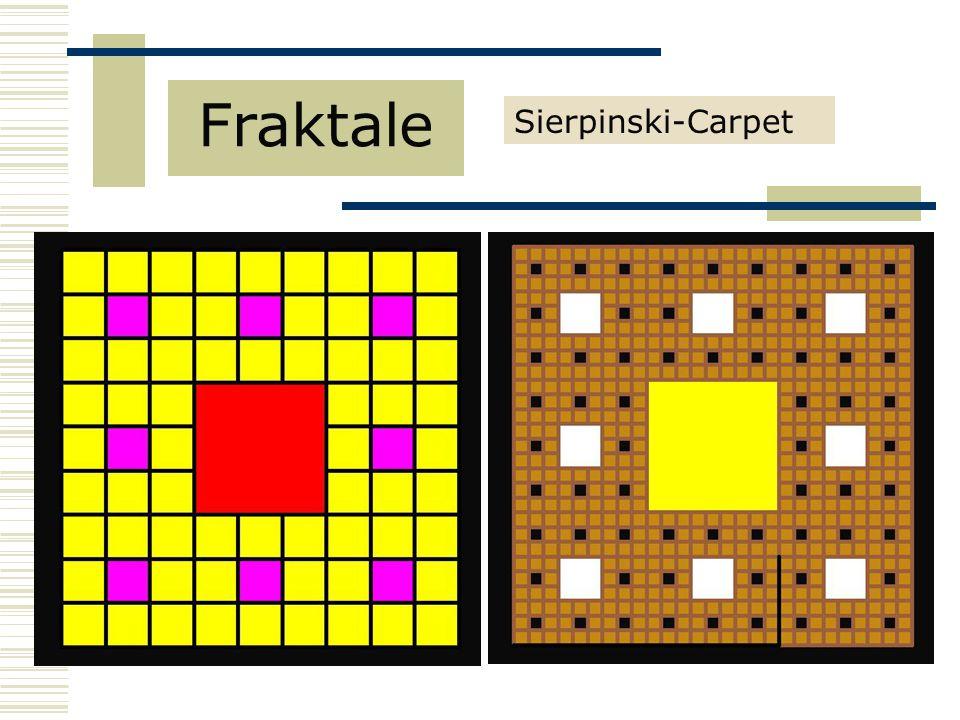 Fraktale Sierpinski-Carpet