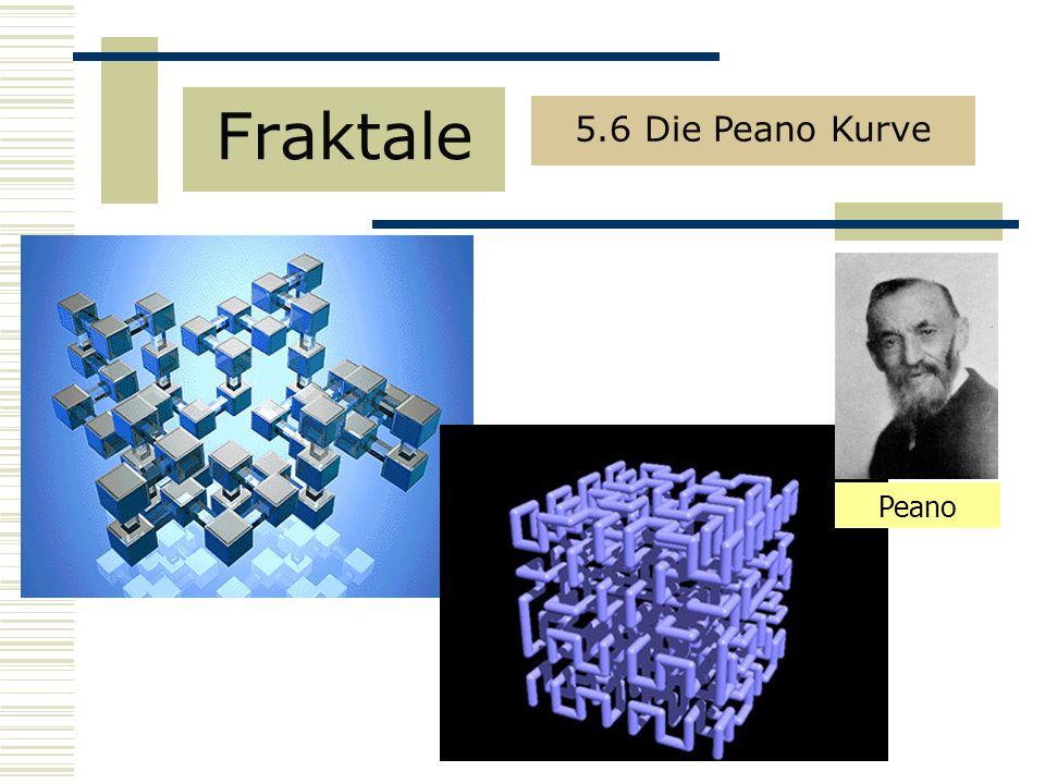 Fraktale 5.6 Die Peano Kurve Peano