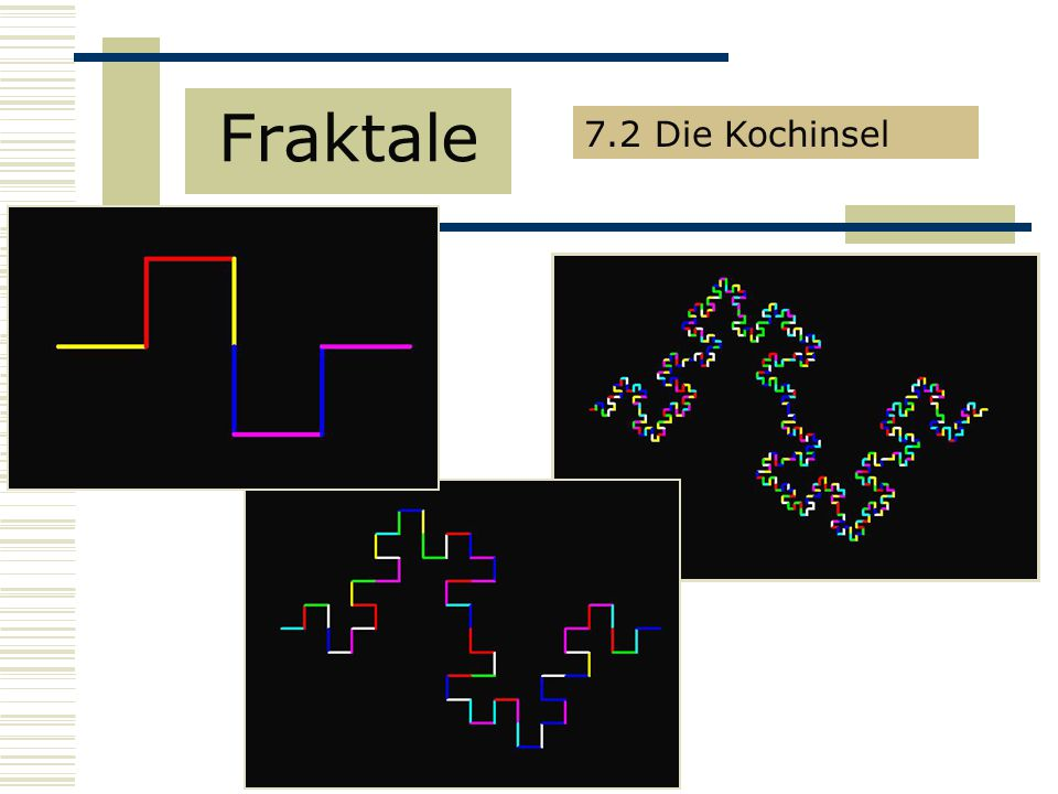 Fraktale 7.2 Die Kochinsel