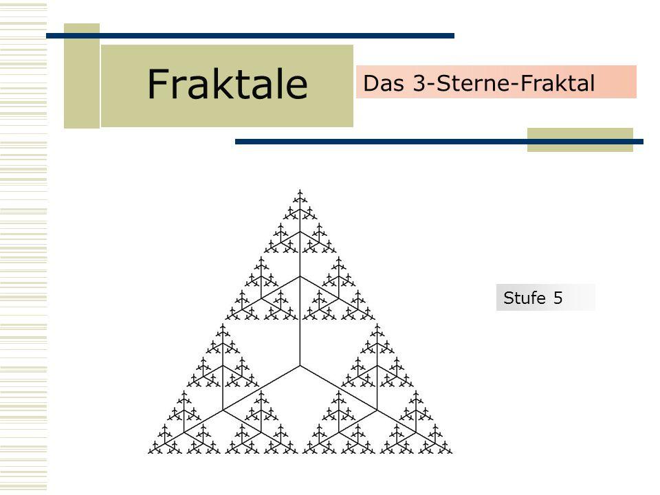 Fraktale Das 3-Sterne-Fraktal Stufe 5