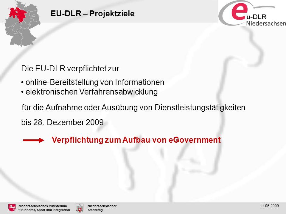 Die EU-DLR verpflichtet zur