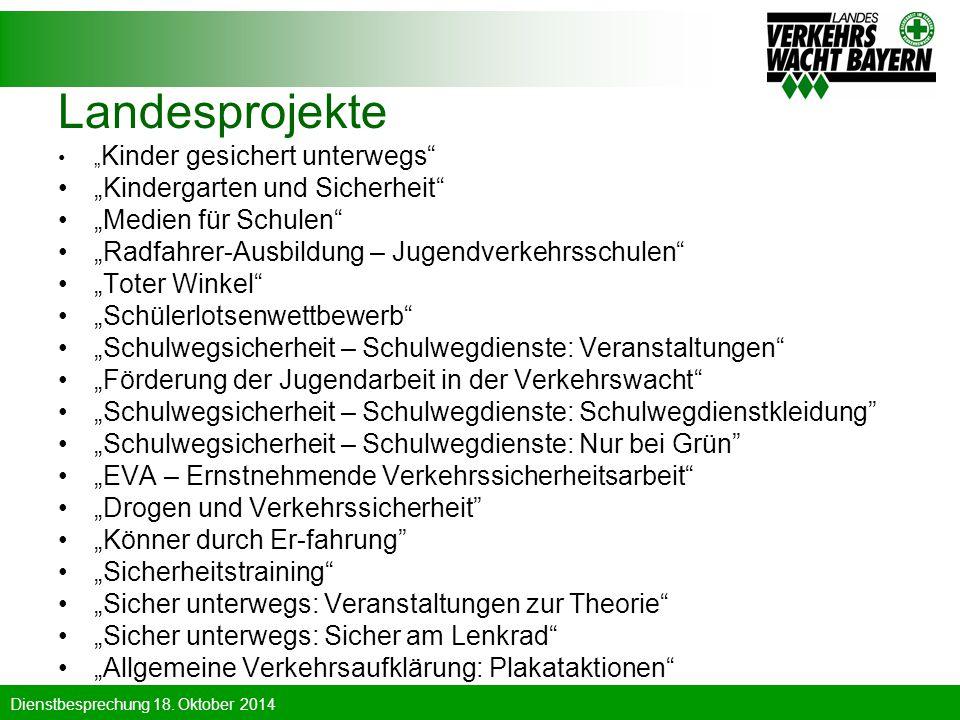 """Landesprojekte """"Kindergarten und Sicherheit """"Medien für Schulen"""