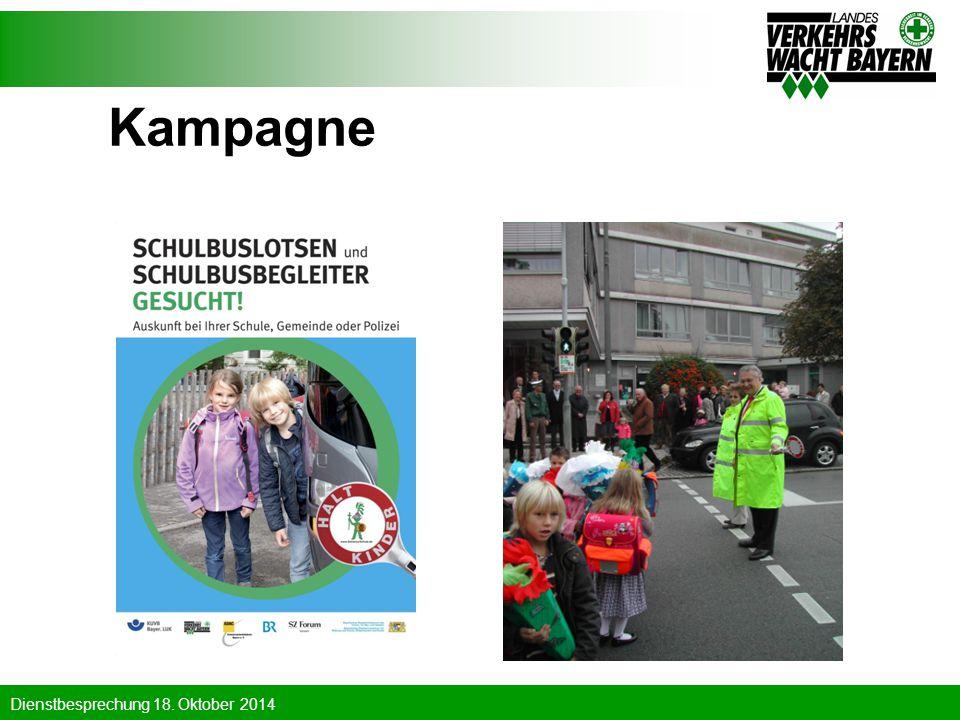 Kampagne Werbekampagne auch in 2010 und 2011 um weitere Aktive für die schöne Aufgabe zu gewinnen.