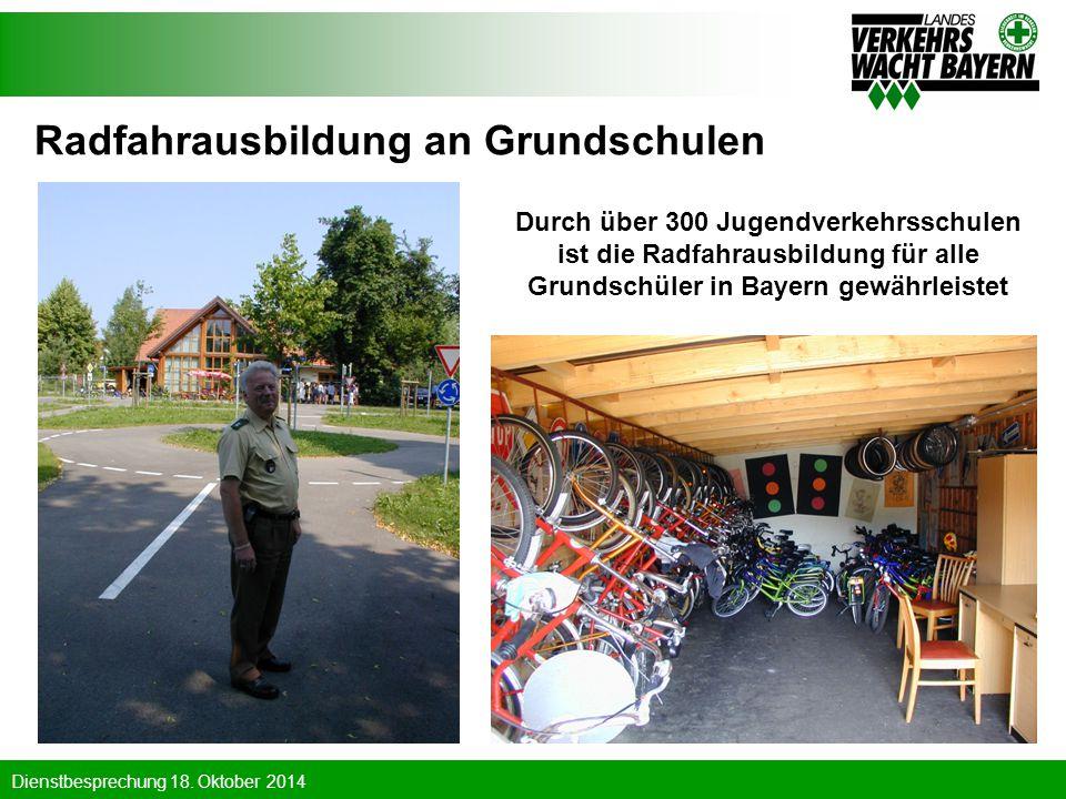 Radfahrausbildung an Grundschulen