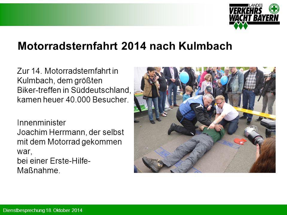 Motorradsternfahrt 2014 nach Kulmbach