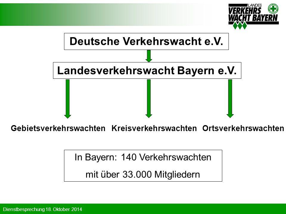 Deutsche Verkehrswacht e.V. Landesverkehrswacht Bayern e.V.