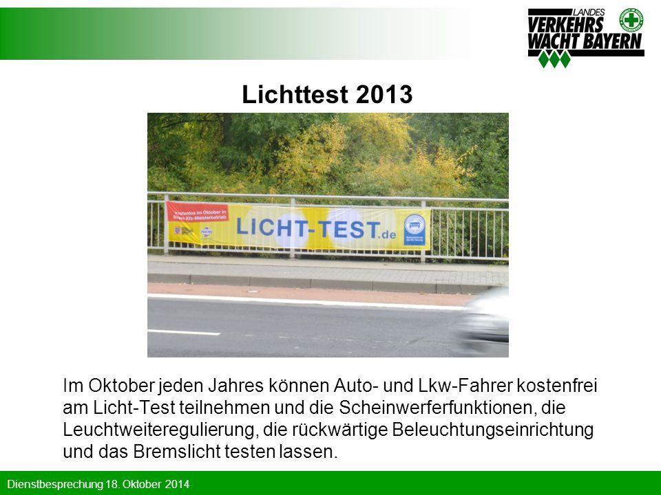 Lichttest 2013
