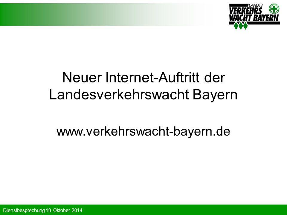 Neuer Internet-Auftritt der Landesverkehrswacht Bayern