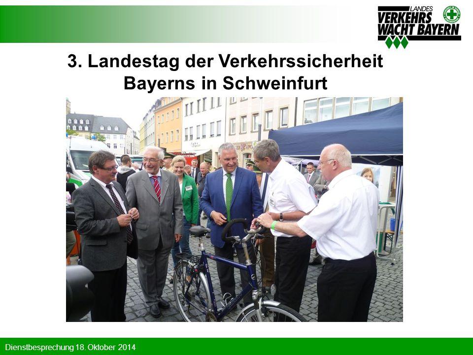 3. Landestag der Verkehrssicherheit Bayerns in Schweinfurt