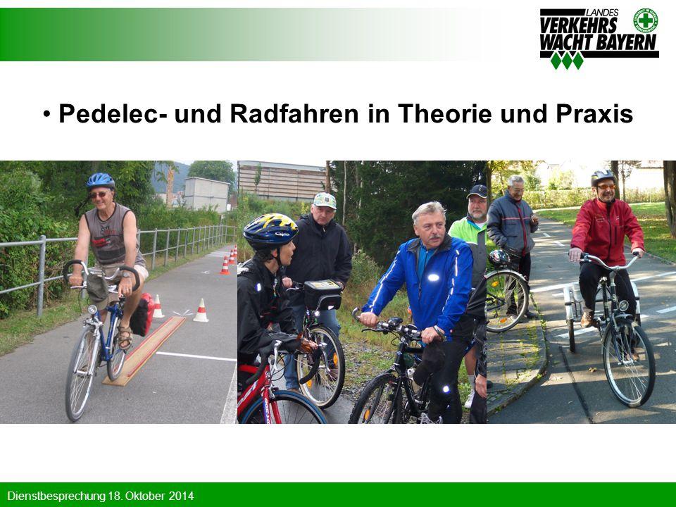 Pedelec- und Radfahren in Theorie und Praxis