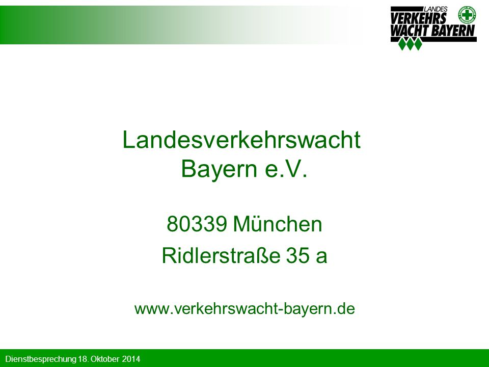 Landesverkehrswacht Bayern e.V.