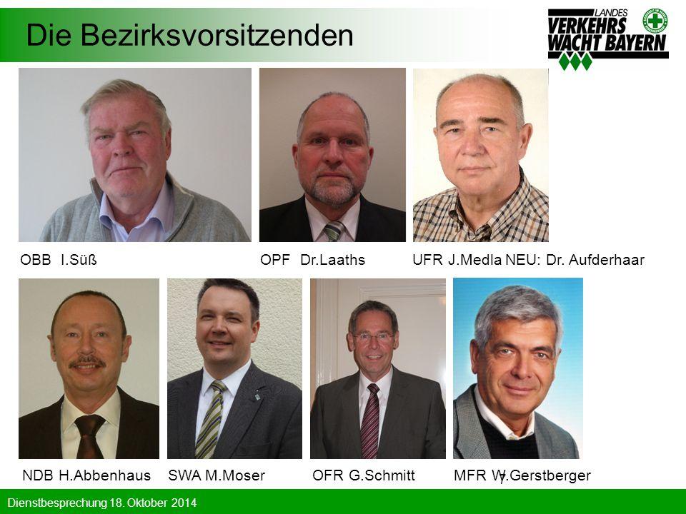 Die Bezirksvorsitzenden