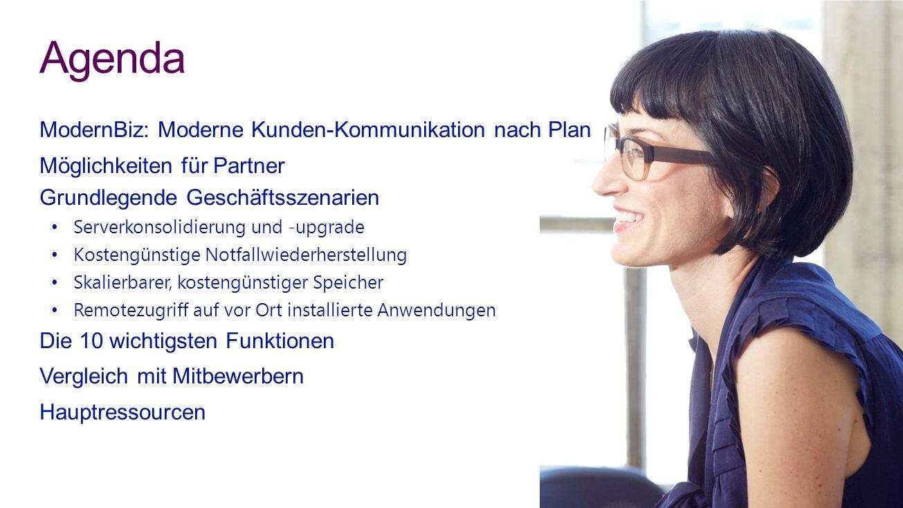 Agenda ModernBiz: Moderne Kunden-Kommunikation nach Plan