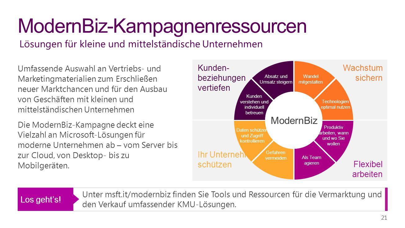 ModernBiz-Kampagnenressourcen