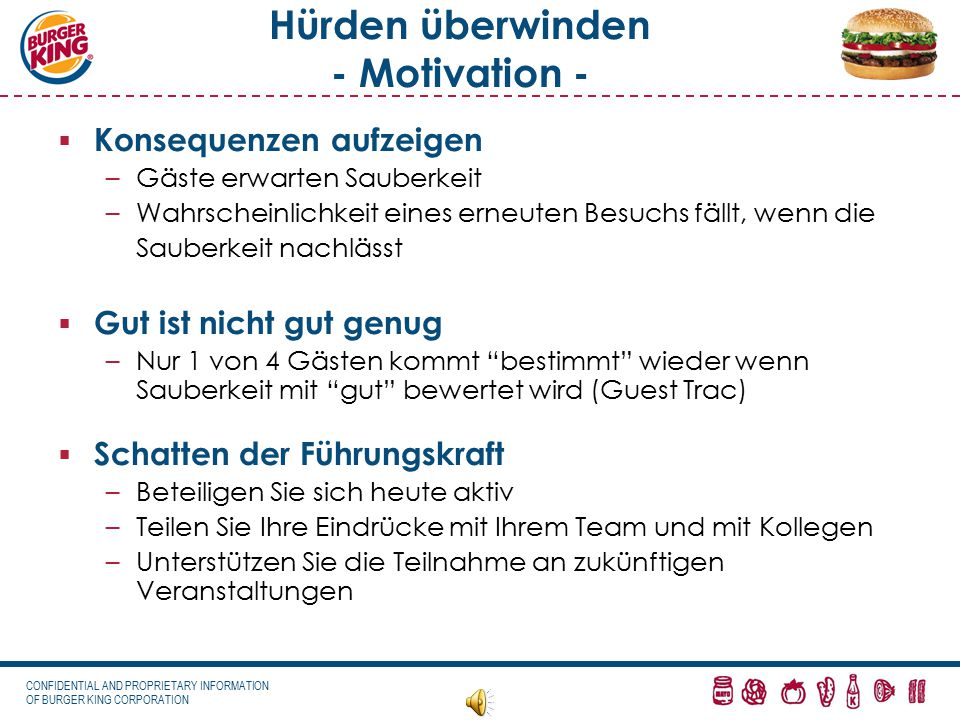 Hürden überwinden - Motivation -