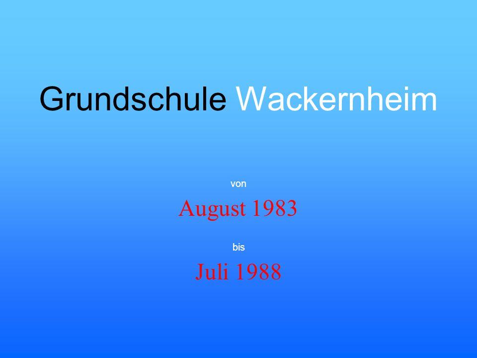 Grundschule Wackernheim