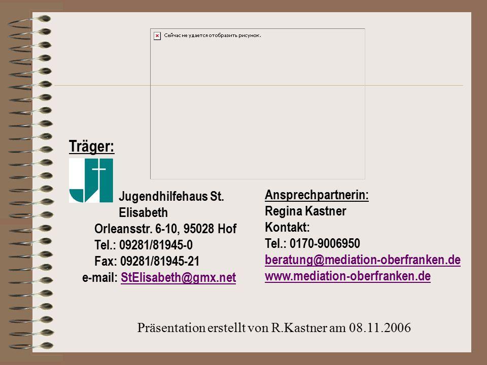 Präsentation erstellt von R.Kastner am 08.11.2006