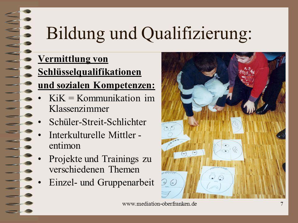 Bildung und Qualifizierung:
