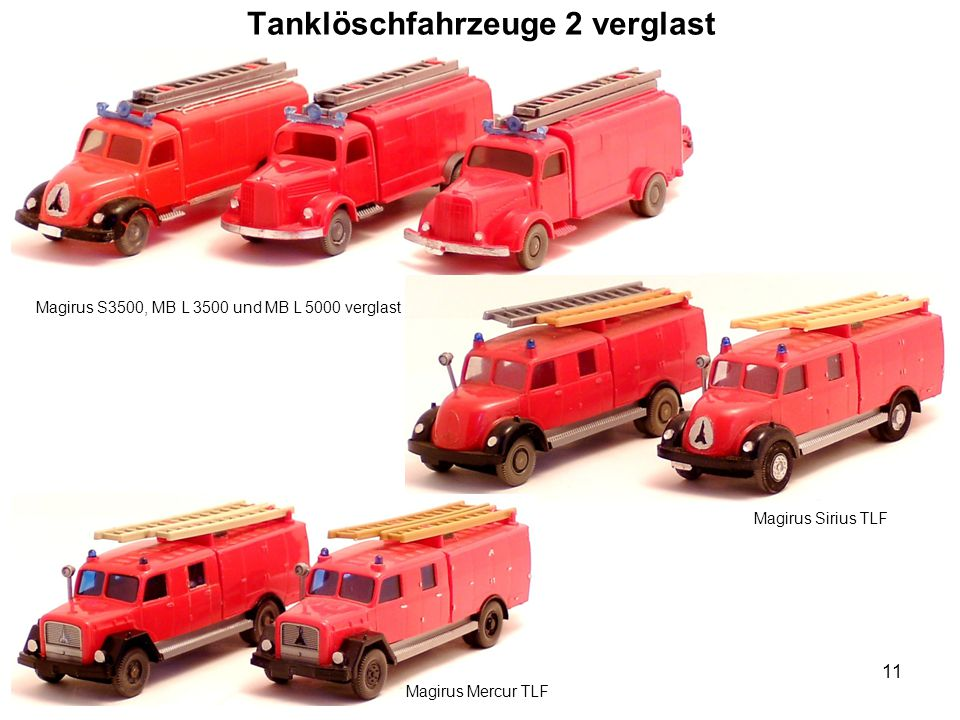 Tanklöschfahrzeuge 2 verglast