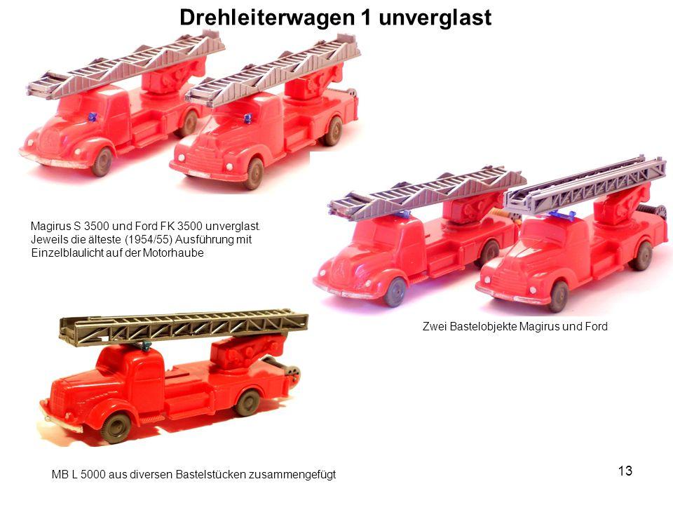Drehleiterwagen 1 unverglast