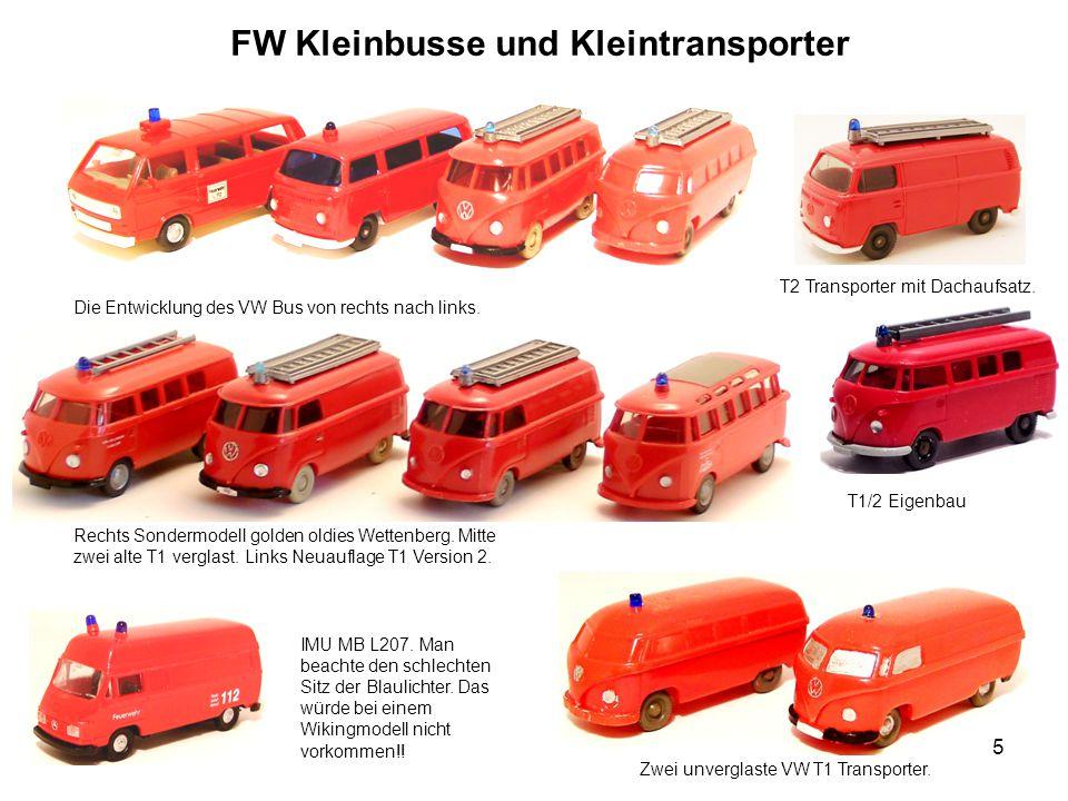 FW Kleinbusse und Kleintransporter