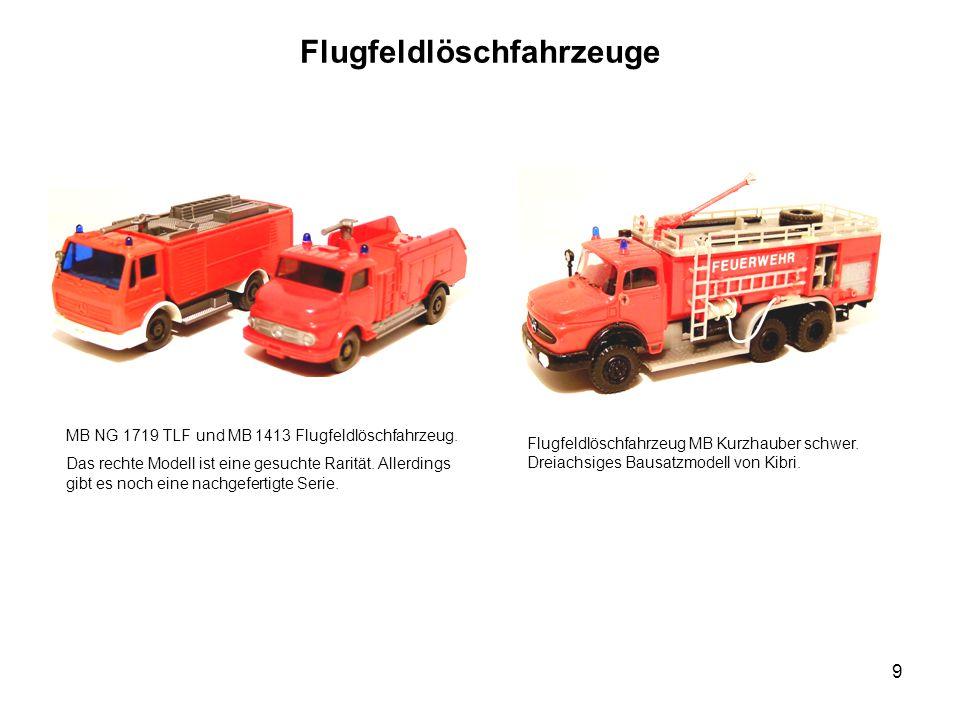 Flugfeldlöschfahrzeuge