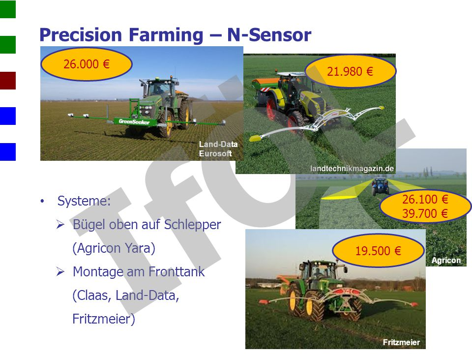 Precision Farming – N-Sensor