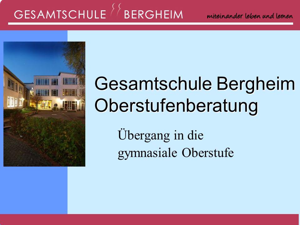Gesamtschule Bergheim Oberstufenberatung