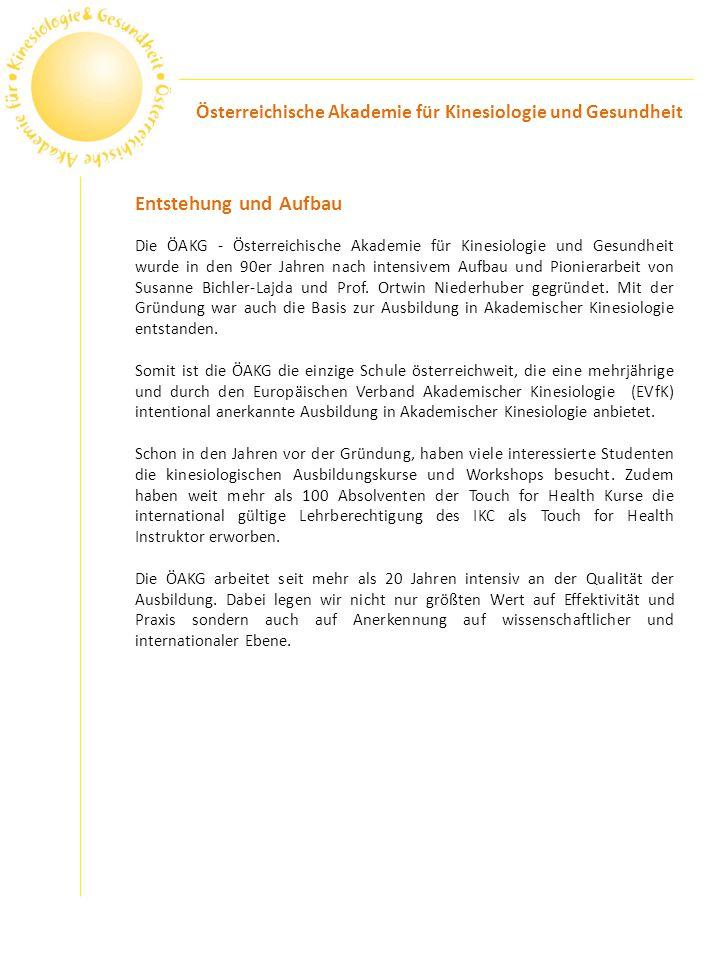 Österreichische Akademie für Kinesiologie und Gesundheit