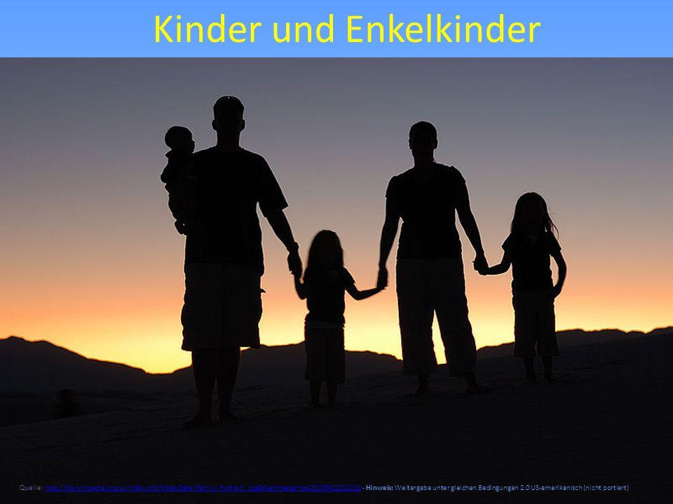 Kinder und Enkelkinder