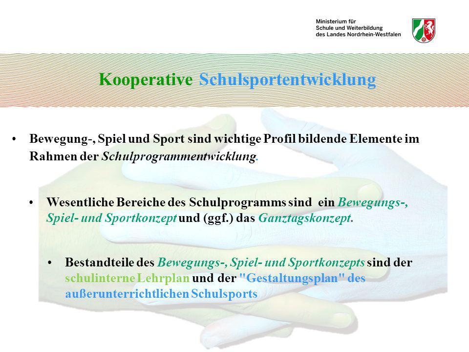 Kooperative Schulsportentwicklung