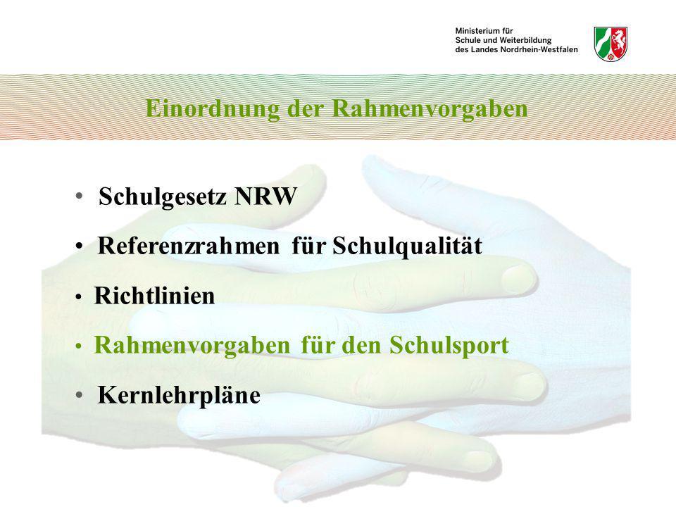Einordnung der Rahmenvorgaben