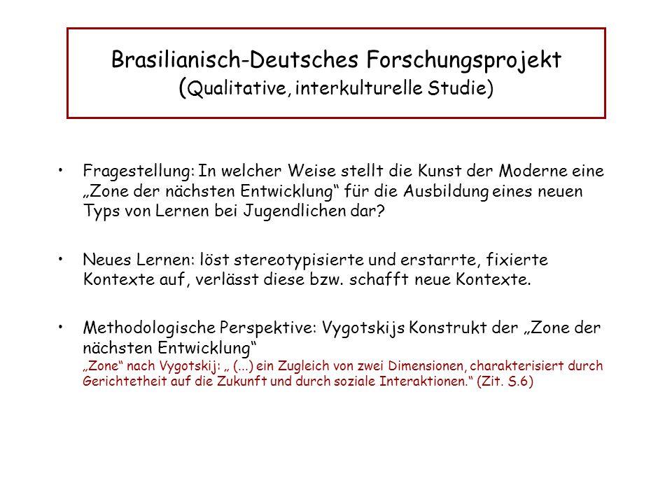 Brasilianisch-Deutsches Forschungsprojekt (Qualitative, interkulturelle Studie)