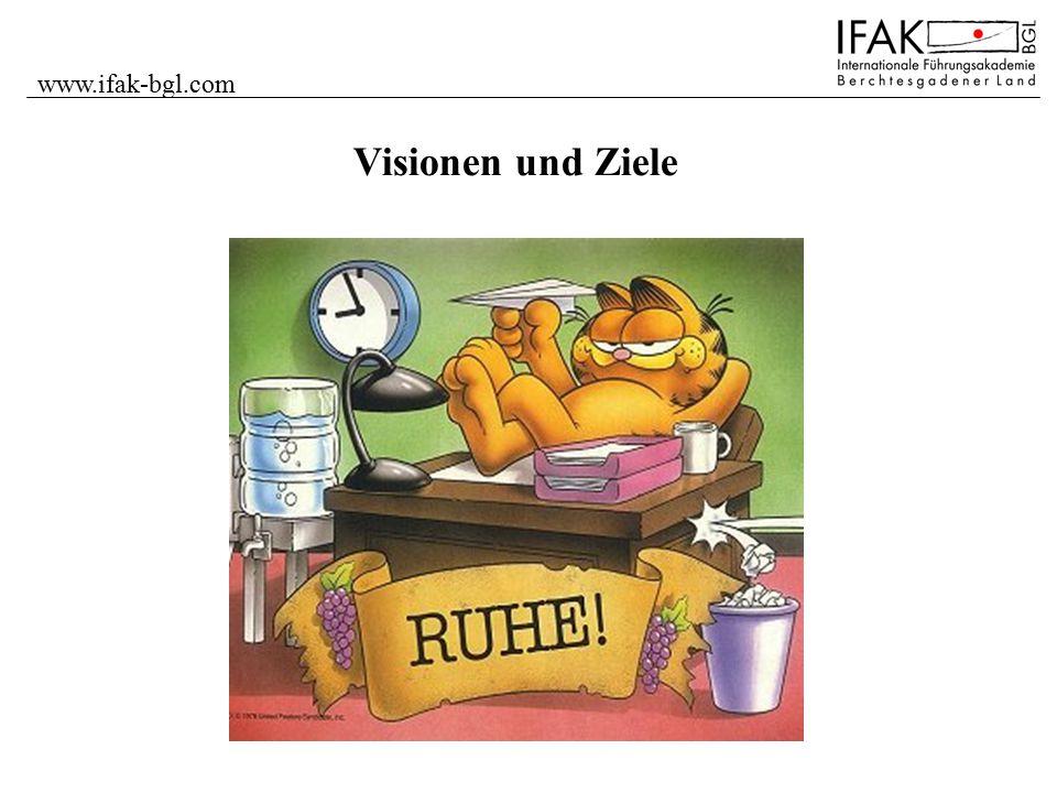 www.ifak-bgl.com Visionen und Ziele