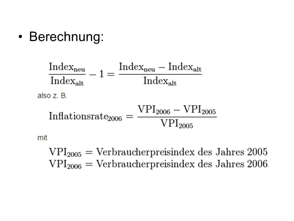 Verbraucherpreisindex Berechnen : analyse der gesamtwirtschaftlichen entwicklung ppt video online herunterladen ~ Themetempest.com Abrechnung