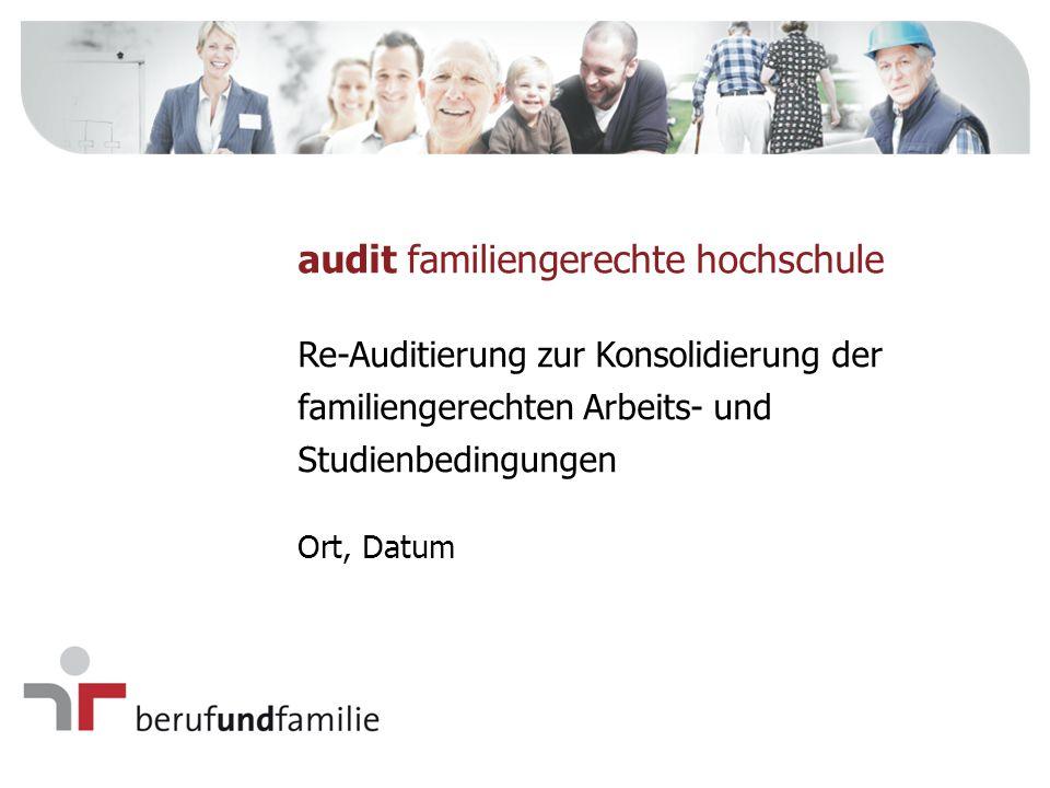 audit familiengerechte hochschule