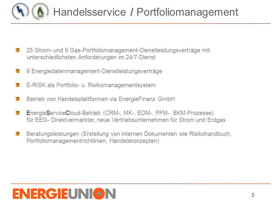 Handelsservice / Portfoliomanagement
