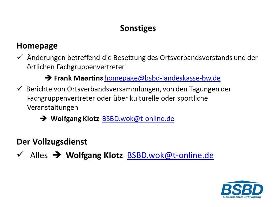  Alles  Wolfgang Klotz BSBD.wok@t-online.de