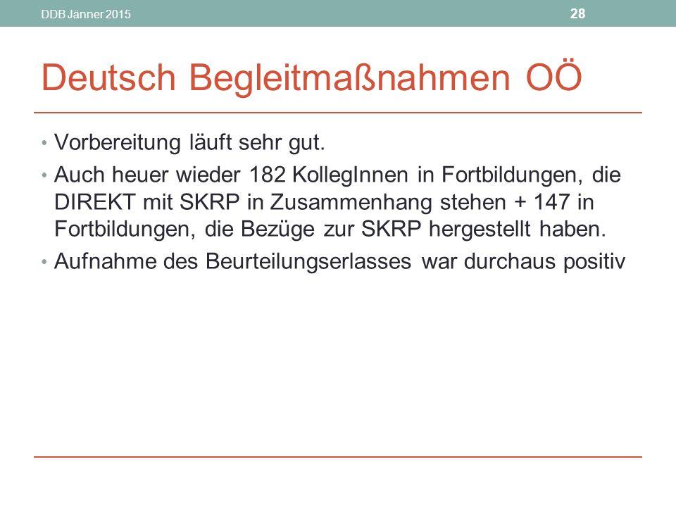 Deutsch Begleitmaßnahmen OÖ