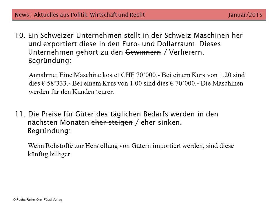 Ein Schweizer Unternehmen stellt in der Schweiz Maschinen her