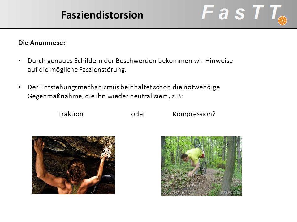 Traktion oder Kompression