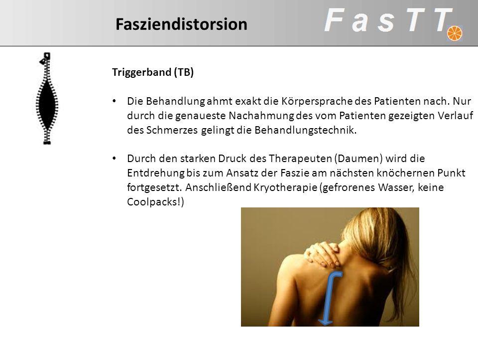 Fasziendistorsion Triggerband (TB)