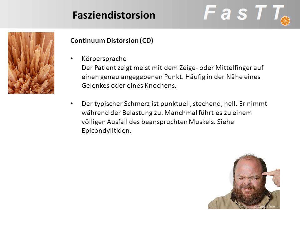 Continuum Distorsion (CD)