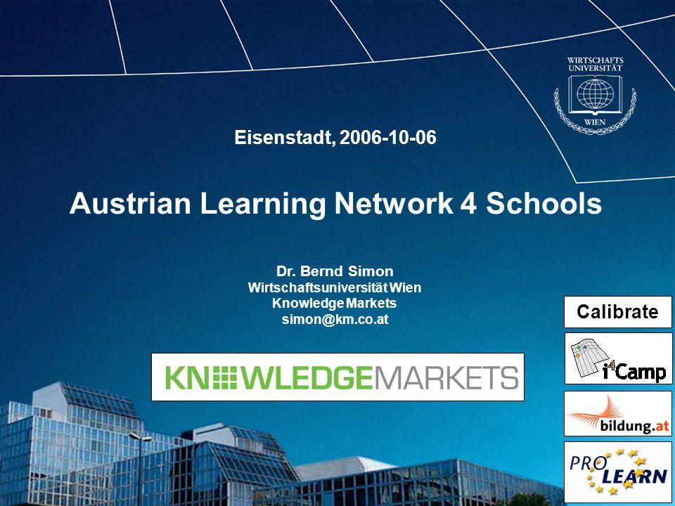 Austrian Learning Network 4 Schools